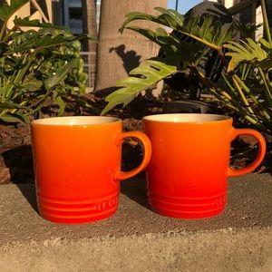 NWOT Le Creuset Mug Set